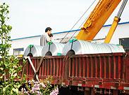 盛通不锈钢焊管运输